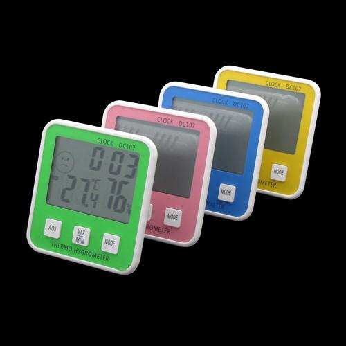 Termômetro Higrômetro Digital   - Thata Esportes