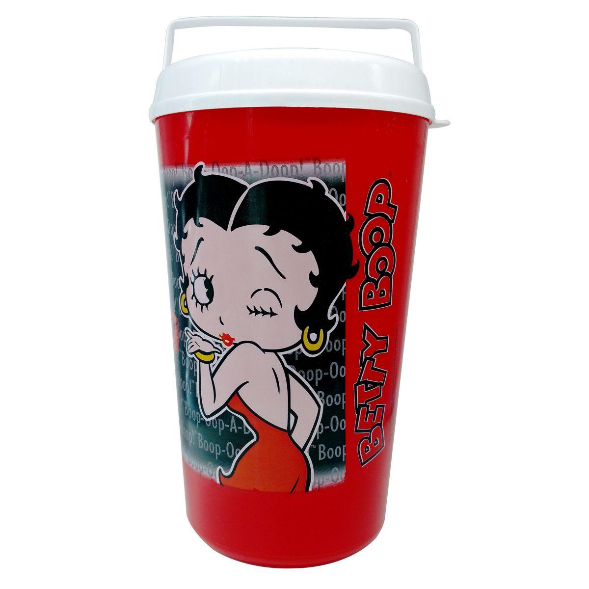 Pipoqueira Personalizada Betty Boop  - Thata Esportes