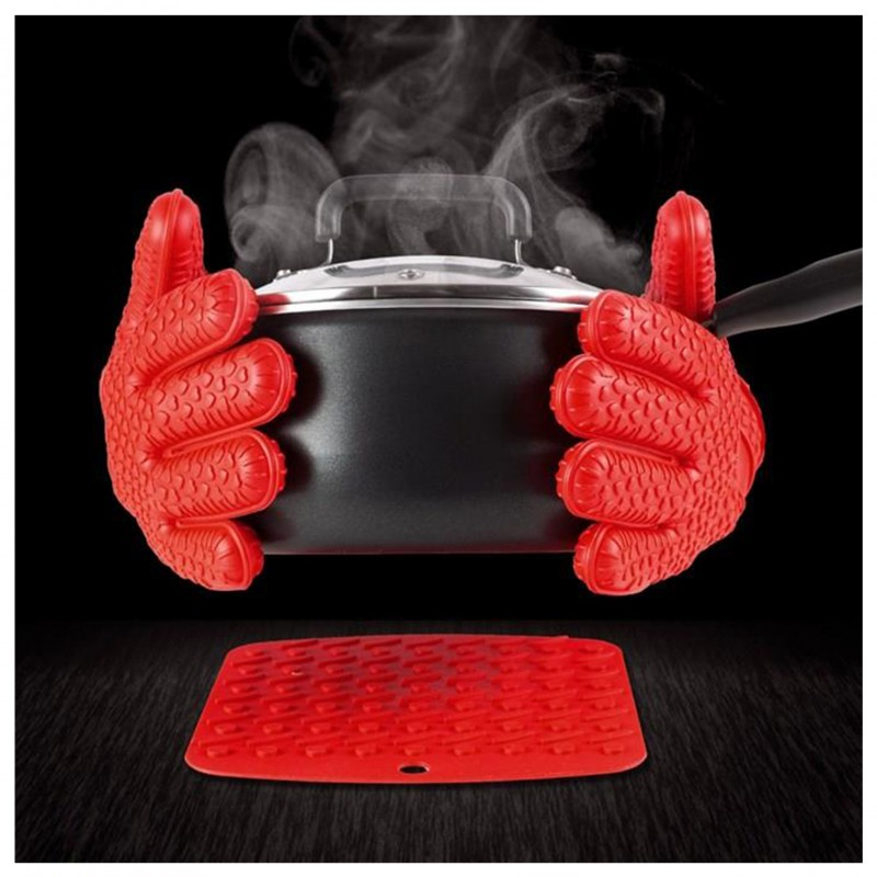 Hot Hands – Par de Luvas Culinária / Gastronomia   - Thata Esportes