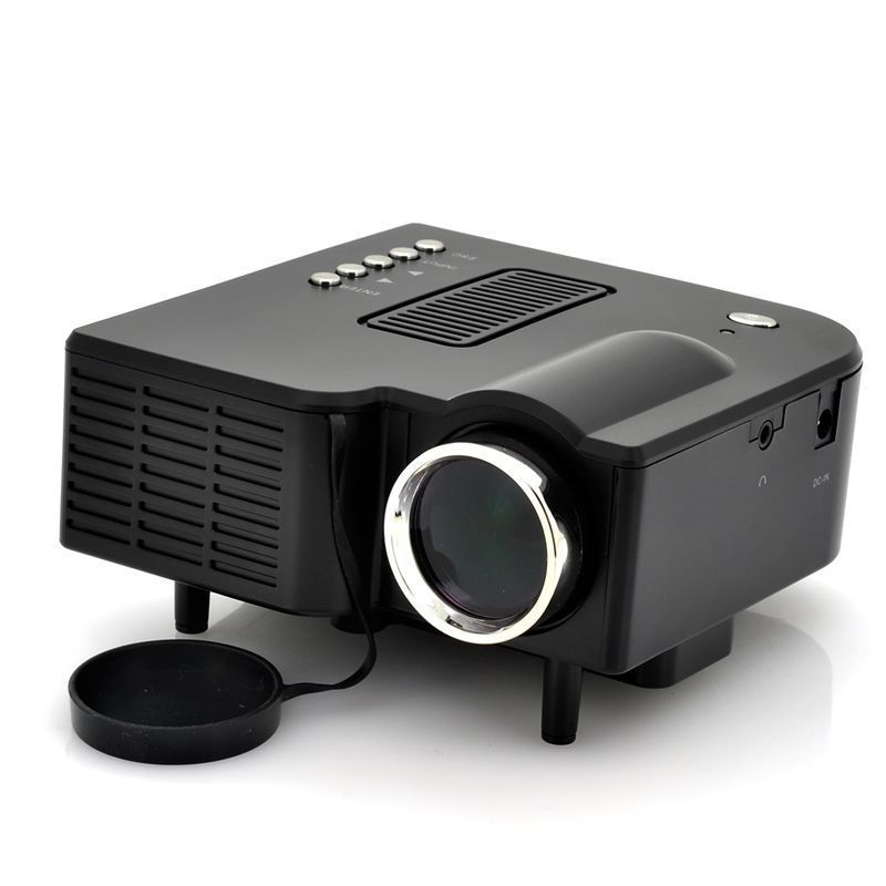 "Projetor 60"" LED Estéreo AV USB Cartão SD Bivolt  - Mundo Thata"