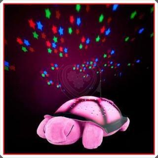 Luminária Musical Projetor Formato Tartaruga  - Mundo Thata
