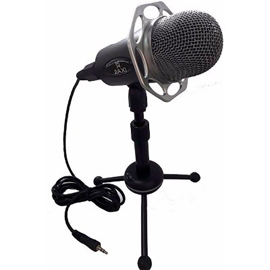 Microfone Profissional de Mesa Condensador Mic com Tripé SF-403  - Thata Esportes