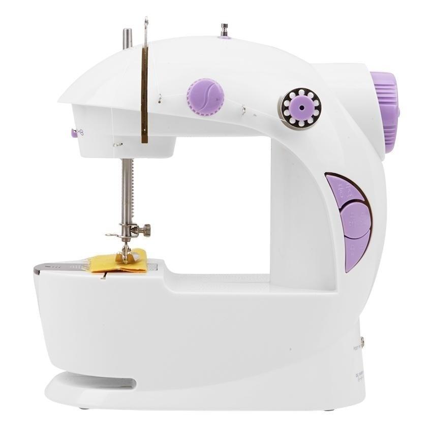 Mini Máquina de Costura Portátil com Luz Bobinas Elétrica  - Thata Esportes