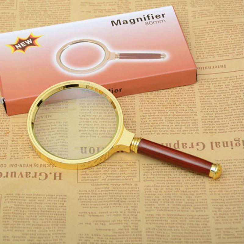 Lupa de Mão Magnifier Lente de 90mm  - Thata Esportes