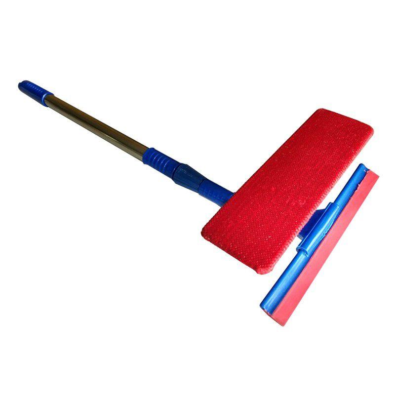 Rodo Mágico Limpa Vidros e Janelas Extensível com Esponja 2 em 1  - Thata Esportes