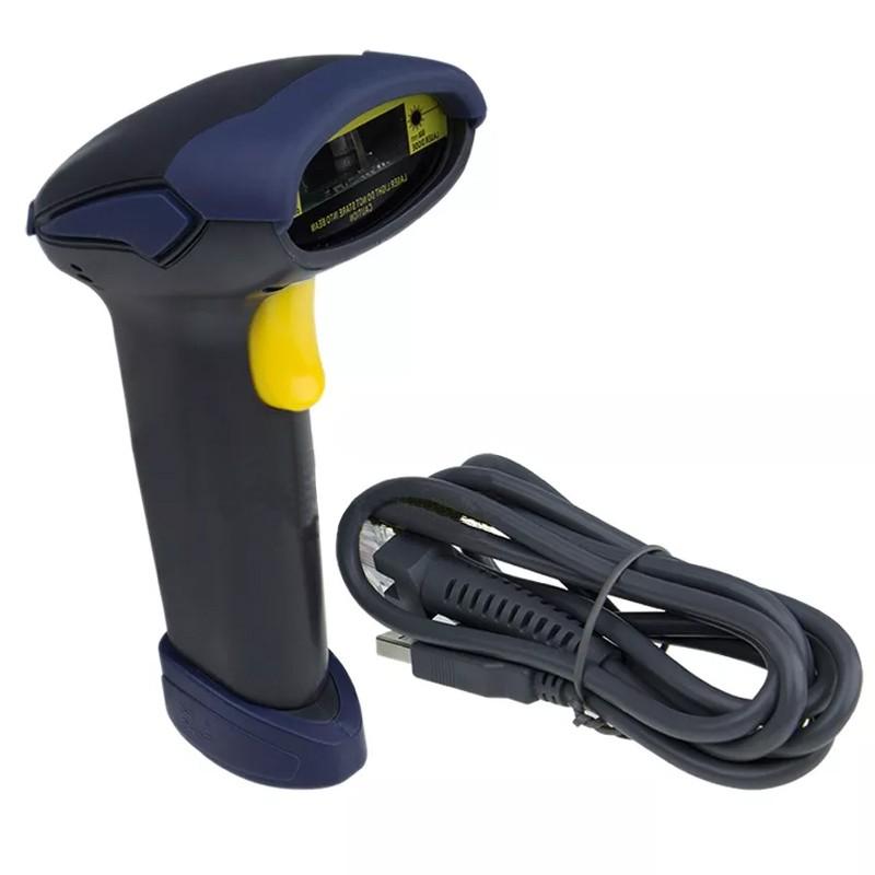 Leitor Código de Barras Laser Cabo USB 1,8m  - Thata Esportes