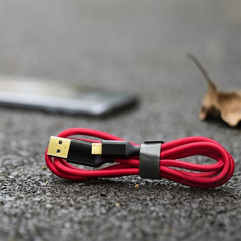 Cabo Carregador V8 Micro USB 1 Metro  - Thata Esportes