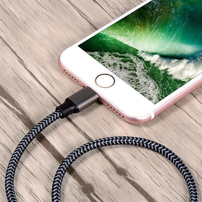 Cabo Carregador Iphone Apple Lightning 1 Metro  - Thata Esportes