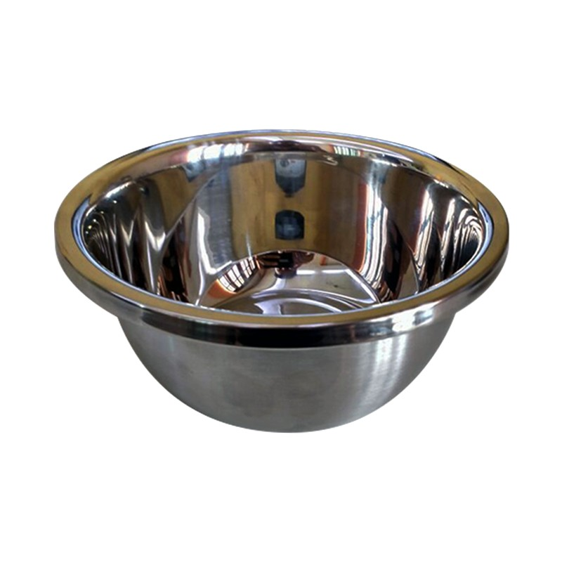 Tigela Bowl Inox 18cm  - Thata Esportes