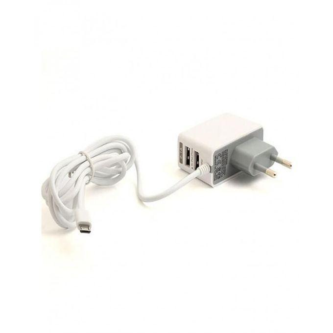 Carregador Micro USB Carga Rápida para Casa  - Thata Esportes