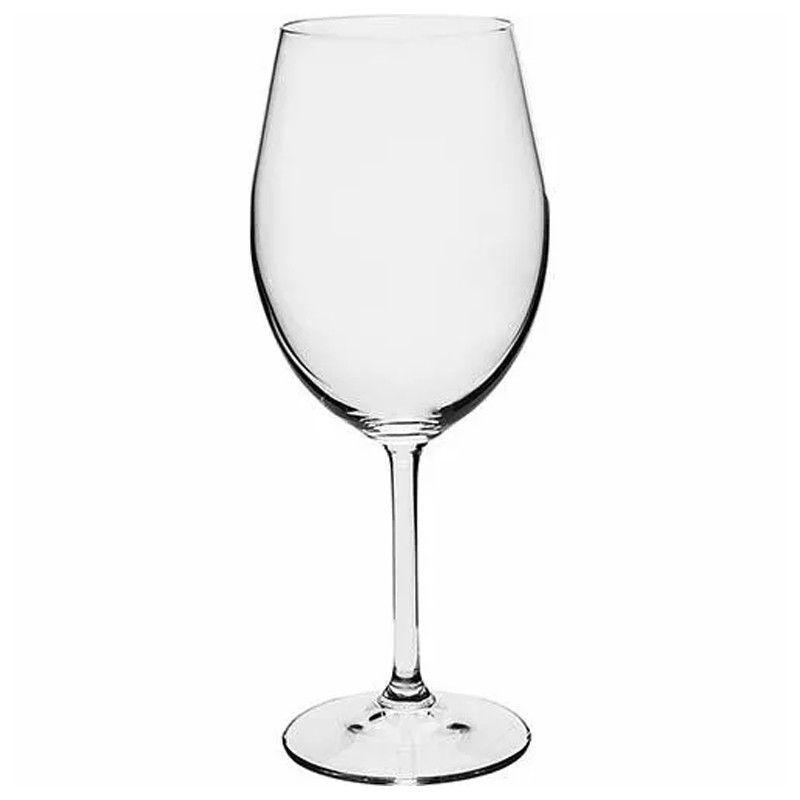 Conjunto 6 Taças Cristal Titânio 450ml Gastro Copo Vinho Bohemia  - Mundo Thata