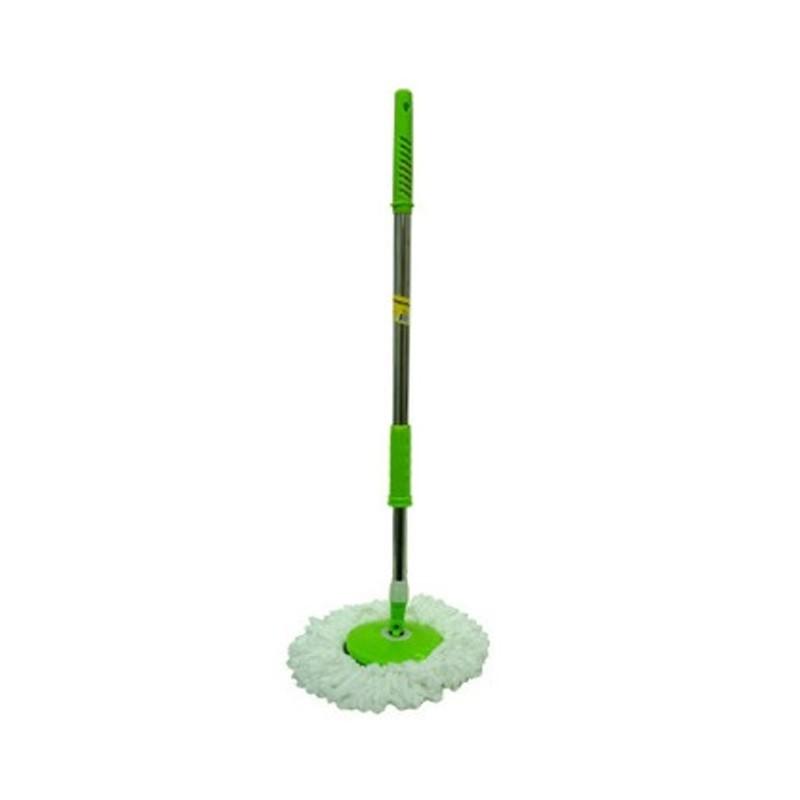 Esfregão Verde Mop com Balde e Refil Reserva  - Thata Esportes