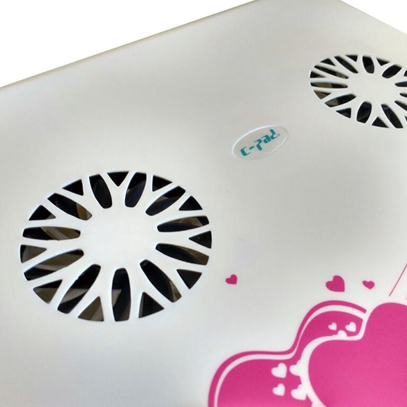 Suporte Apoio com Cooler Pad USB para Laptop Notebook  - Thata Esportes