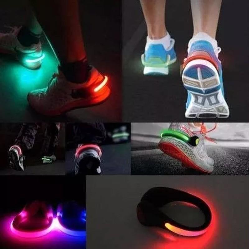 Luz Segurança Sinalizador de Tênis para Exercícios Noturnos  - Thata Esportes