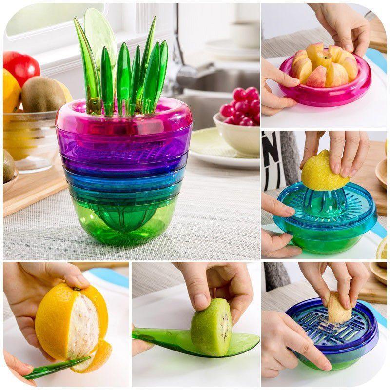 Kit de Cozinha Multifuncional 10 em 1  - Thata Esportes