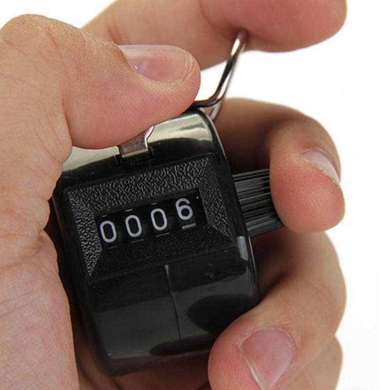Contador Manual Numérico 4 Dígitos Passos Pessoas Produtos  - Thata Esportes
