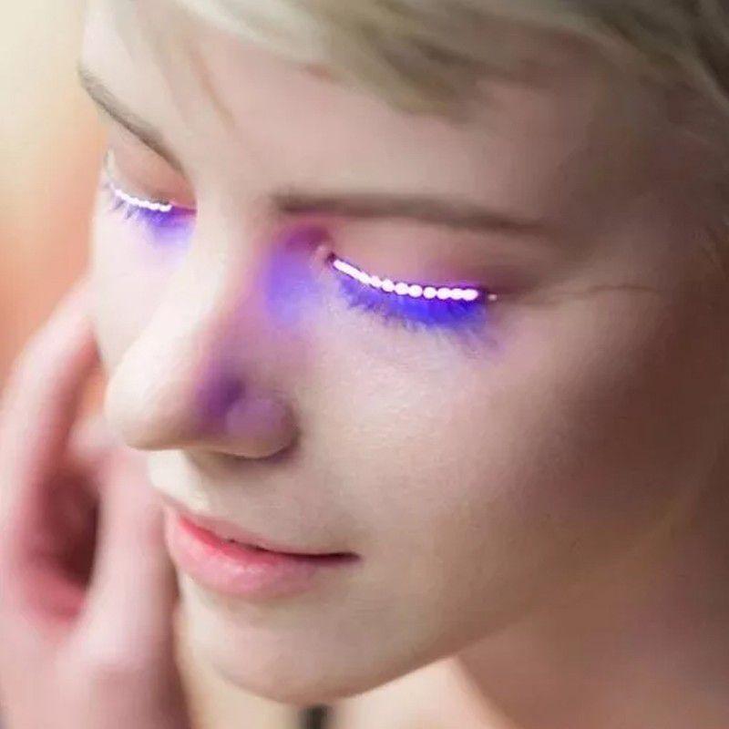 Fita de LED para Cílios 8 Modos de Brilho  - Thata Esportes