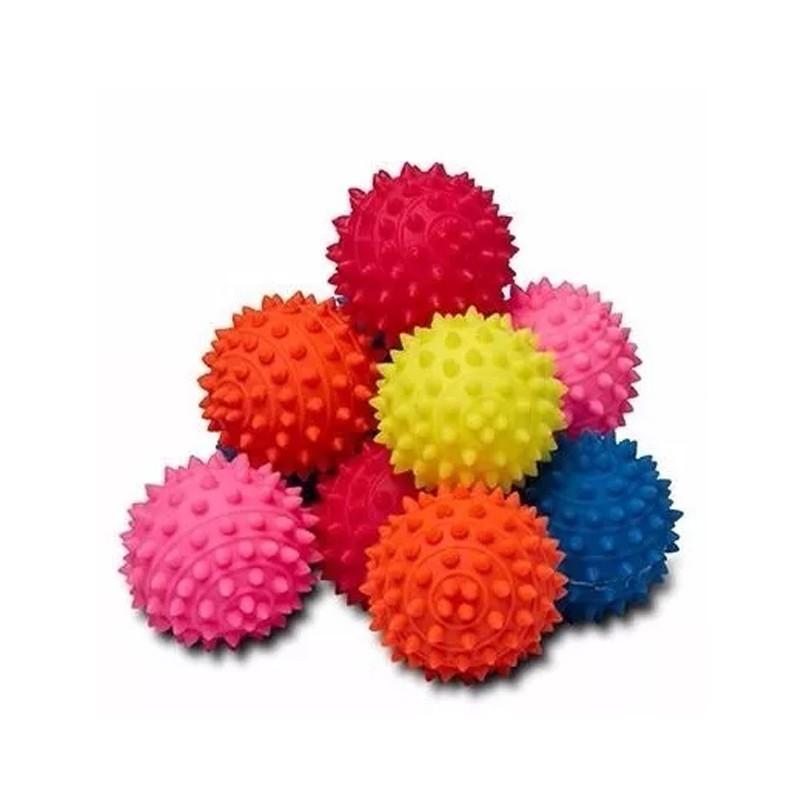 Kit 12 Bolas Cravo Anti Stress Fisioterapia Massagem  - Thata Esportes