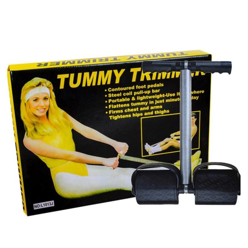 Aparelho de Exercício Multitarefas Tummy Trimmer Abdômen Tronco Pernas  - Thata Esportes