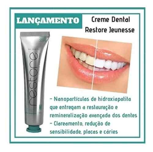 Creme Dental Gel Restore Speed Whitening Pasta De Dente  - Mundo Thata