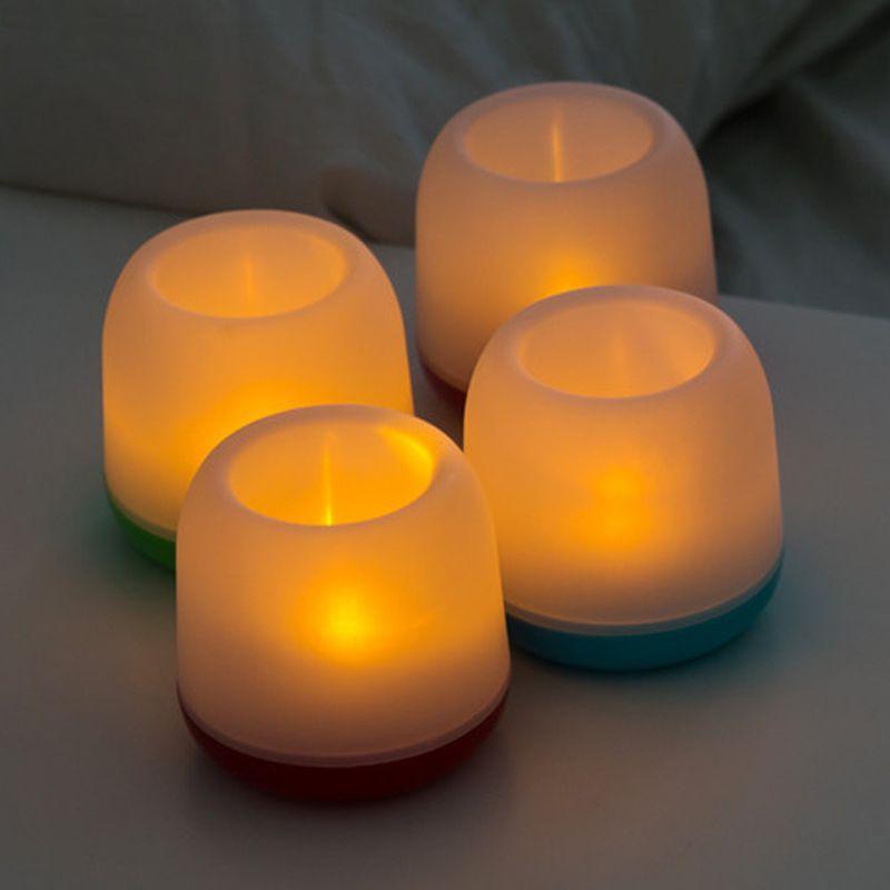 Abajur Luminária Vela LED  - Mundo Thata