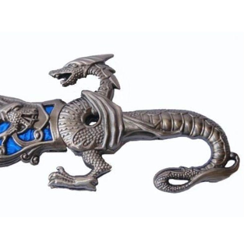 Adaga Decorativa Dragão Chinês  - Thata Esportes