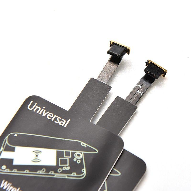 Adaptador Qi Universal Para Carregador por Indução Micro USB  - Mundo Thata