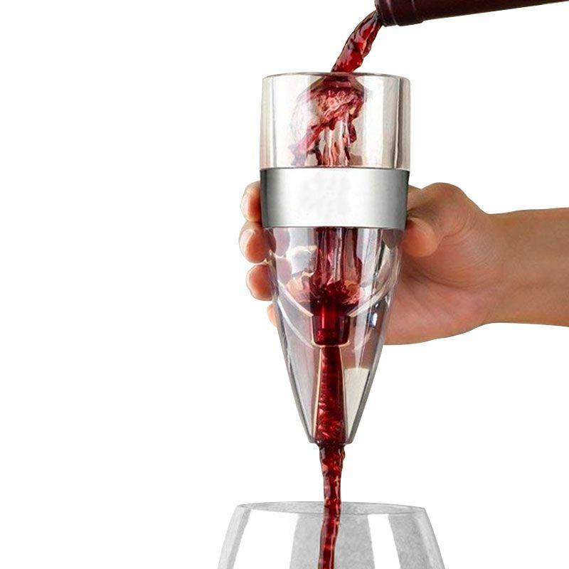 Aerador Decantador de Vinho Torre Deluxe Magic Decanter  - Mundo Thata