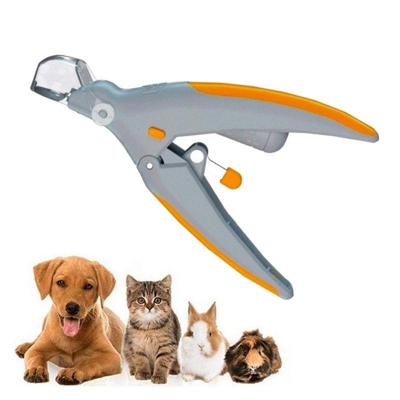 Alicate Cortador Aparador de Unha para Cachorro e Gato com LED Iluminação Pet Shop  - Mundo Thata