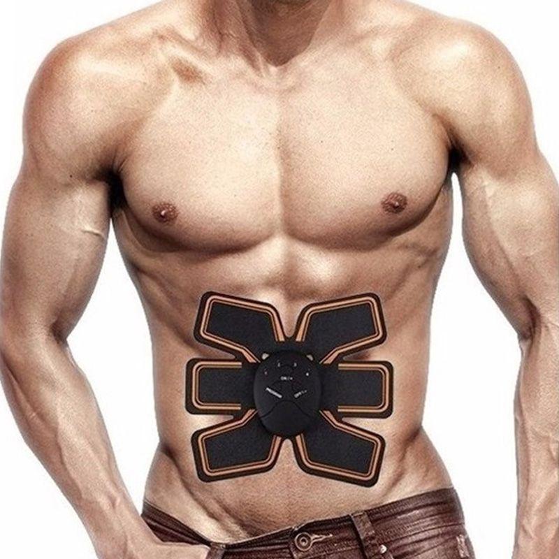 Aparelho Massageador Estimulador Abdominal Muscular Elétrico 6 Pack EMS Beauty Body  - Mundo Thata