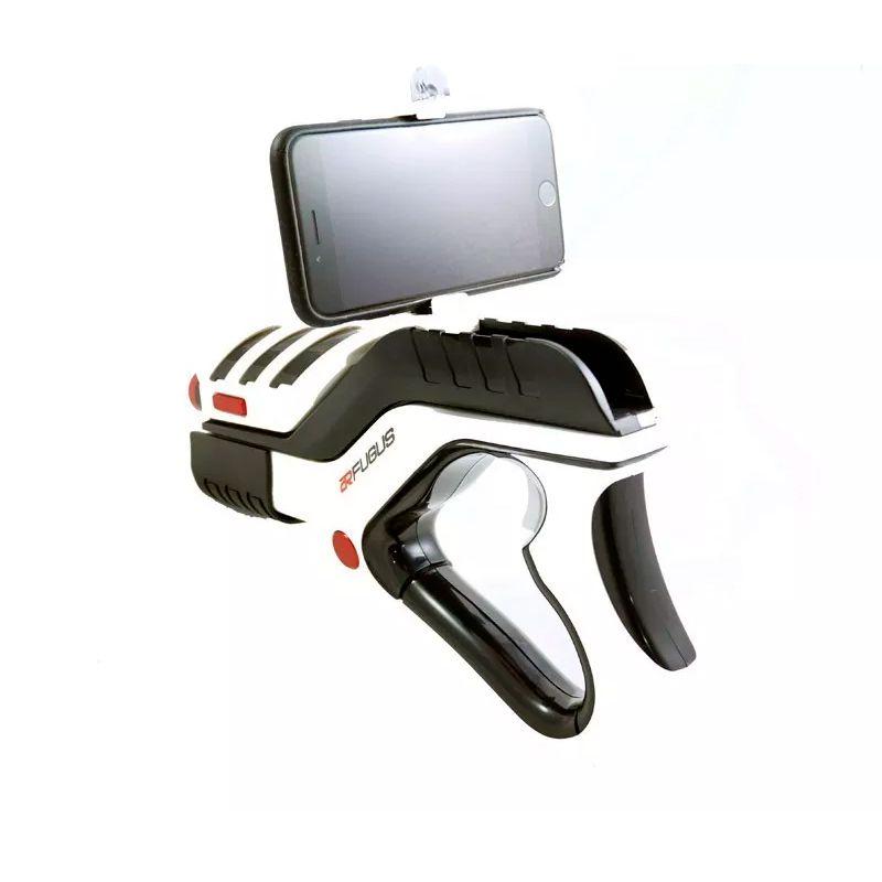 ARGun Realidade Aumentada Jogo Joystick Controle com Suporte para Celular Bluetooth  - Thata Esportes