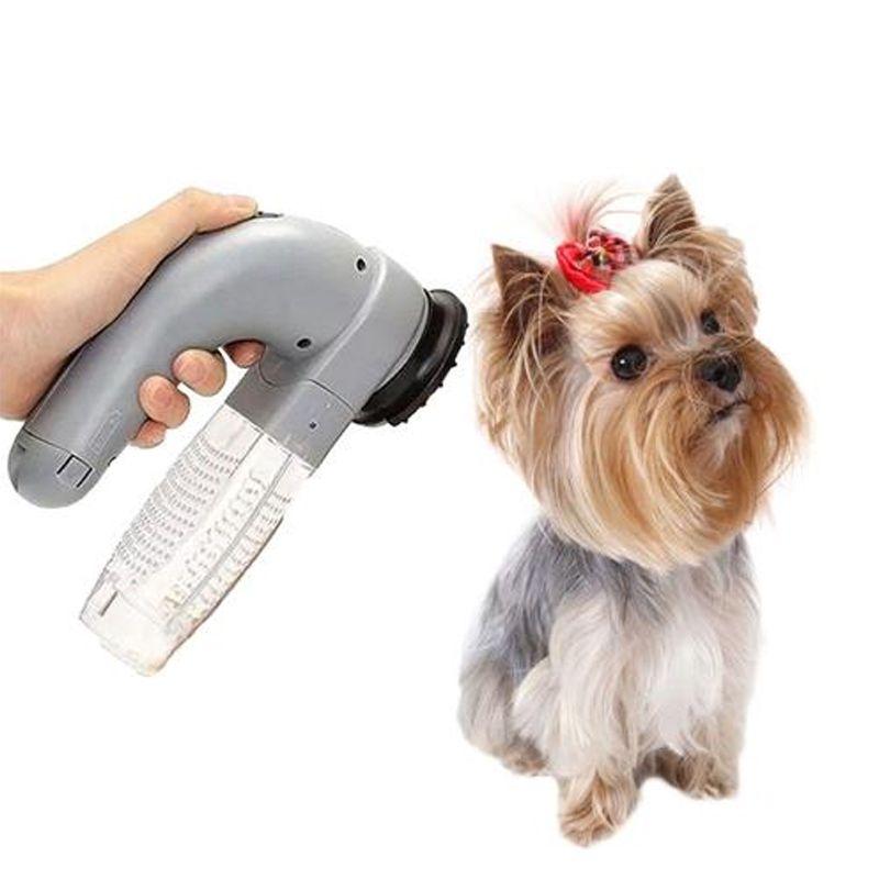 Aspirador De Pelos Portátil Cachorros Gatos Cuidados Massagem Western Pet  - Thata Esportes