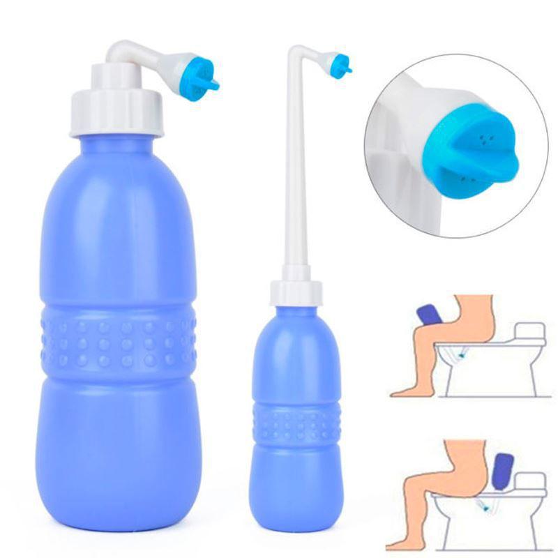 Bidê Portátil Ducha Higiênica Higienizador Íntimo Pessoal Spray Chuveiro  - Thata Esportes