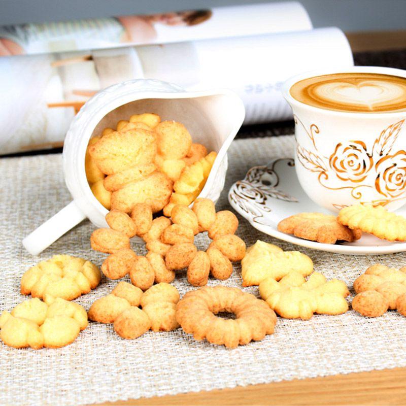 Biscoiteira Manual Máquina de Fazer Biscoitos 16 Moldes 6 Bicos  - Thata Esportes
