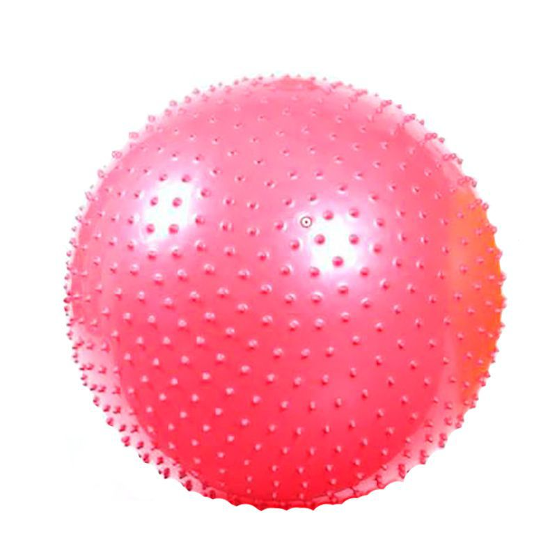 Bola de Ginástica Yoga Pilates com Pontas Massageadoras 36 cm  - Thata Esportes