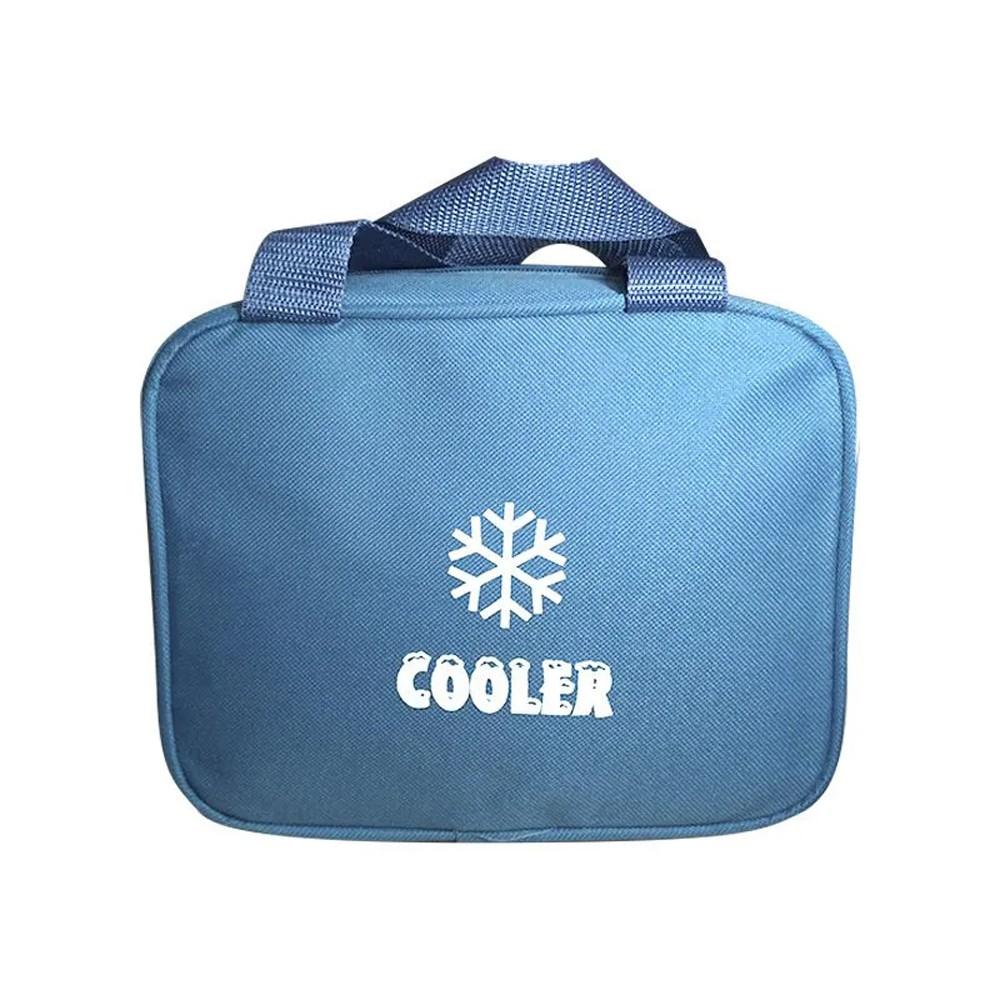 Bolsa Térmica Alça Vertical de Mão Cooler Fitness Lancheira Marmita Necessaire Medicamentos Cosméticos Cerveja Refrigerantes  - Mundo Thata