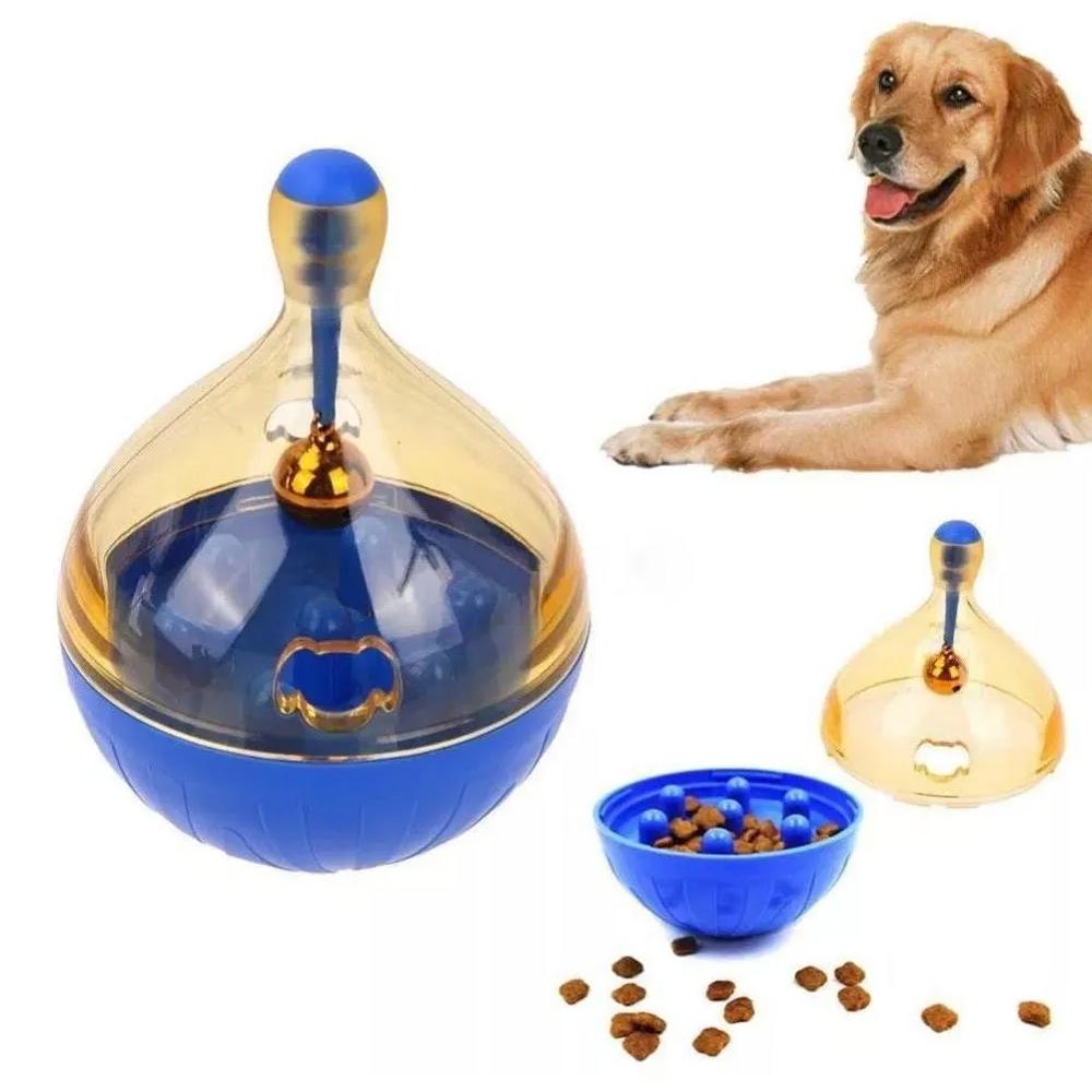 Brinquedo Dispenser Alimentador Interativo Pet Para Cães E Gatos  - Mundo Thata