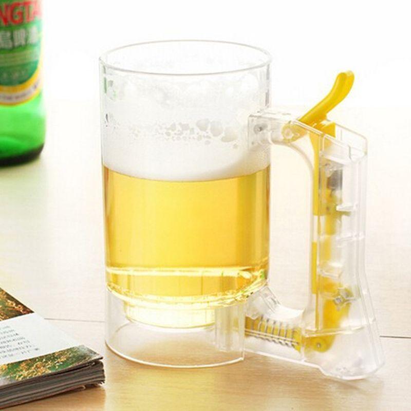 Caneca de Cerveja Chopp Geradora de Espuma  - Thata Esportes