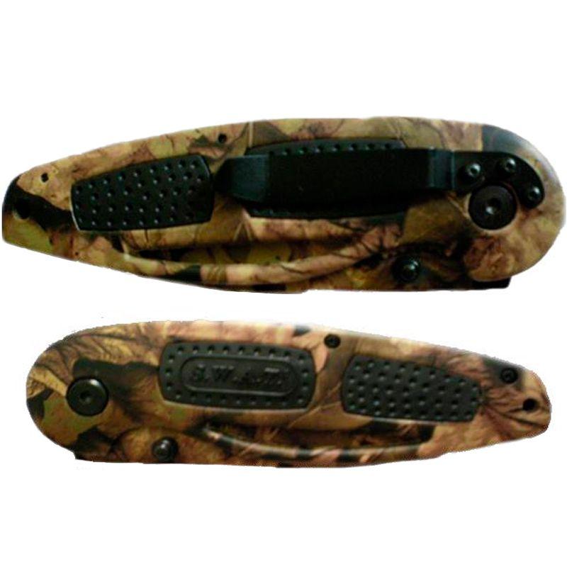 Canivete Tático Camuflado SWAT  - Thata Esportes