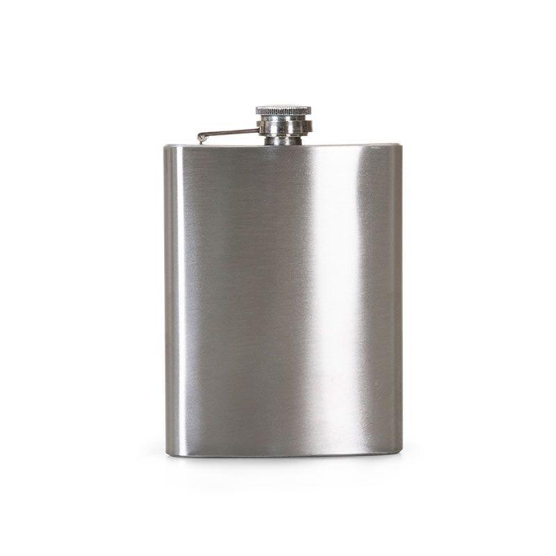 Cantil Porta Bebida Whiskeira Com Bolsa Inox Whisky Vodka Rum 500 Ml 16 Oz  - Mundo Thata
