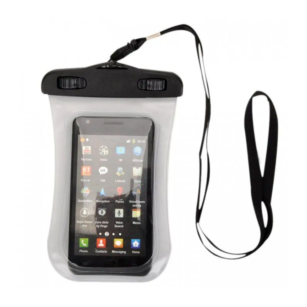 Capa Bolsa Impermeável 2 Travas Telefone Móvel Tablet Câmera Fotográfica  - Mundo Thata