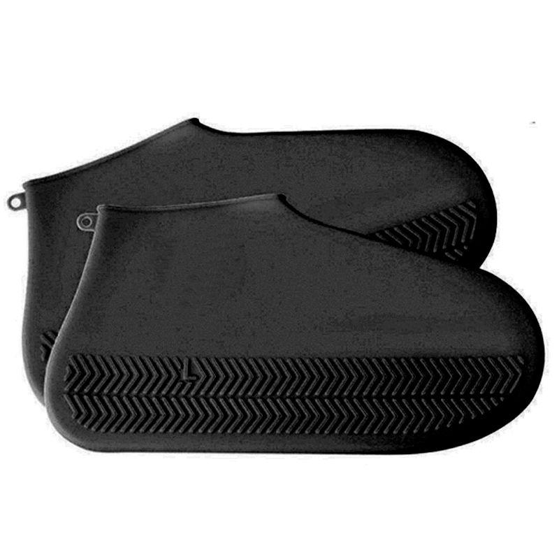 Capa Chuva para Tênis Sapato Pé Moto Bicicleta Impermeável Silicone Lavável   - Thata Esportes