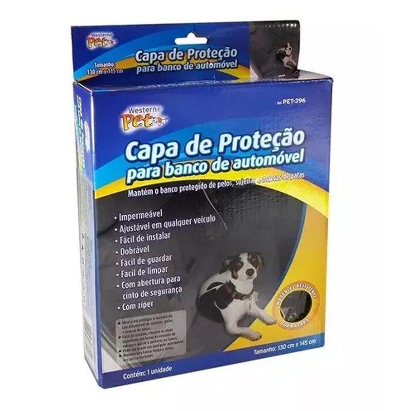 Capa de Proteção Para Banco de Automóvel Cães e Gatos  - Mundo Thata