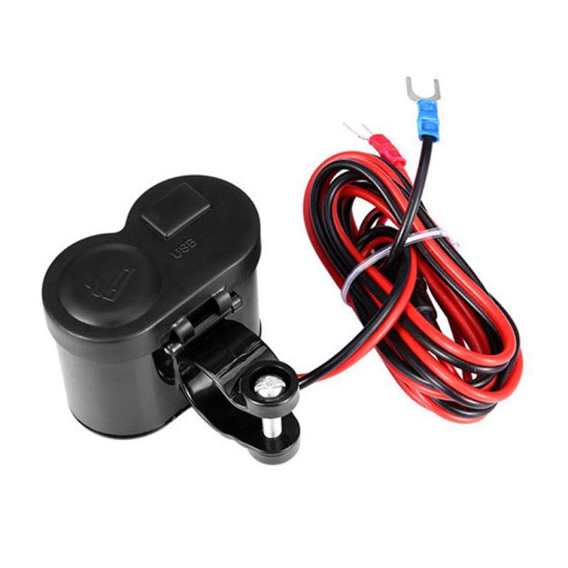 Carregador Impermeável USB Isqueiro GPS Para Moto Bike Elétrica  - Mundo Thata