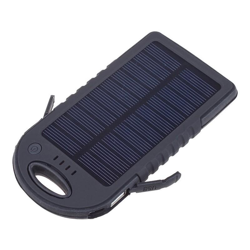Carregador Multi Uso Elétrico e Solar  - Thata Esportes