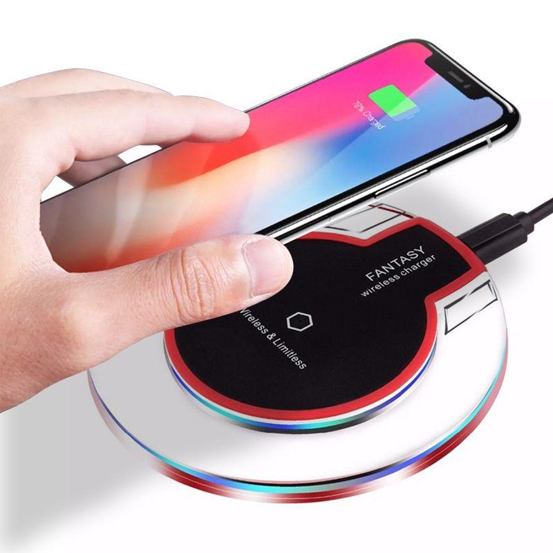 Carregador Por Indução Sem Fio Apple iPhone X / 8 / 8 Plus  - Thata Esportes