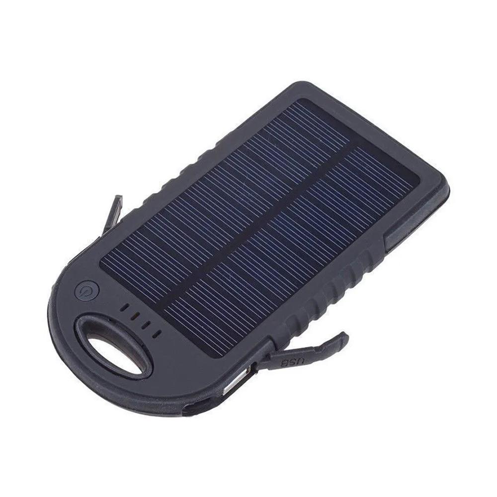 Carregador Portátil Multi Uso Elétrico e Solar  - Mundo Thata