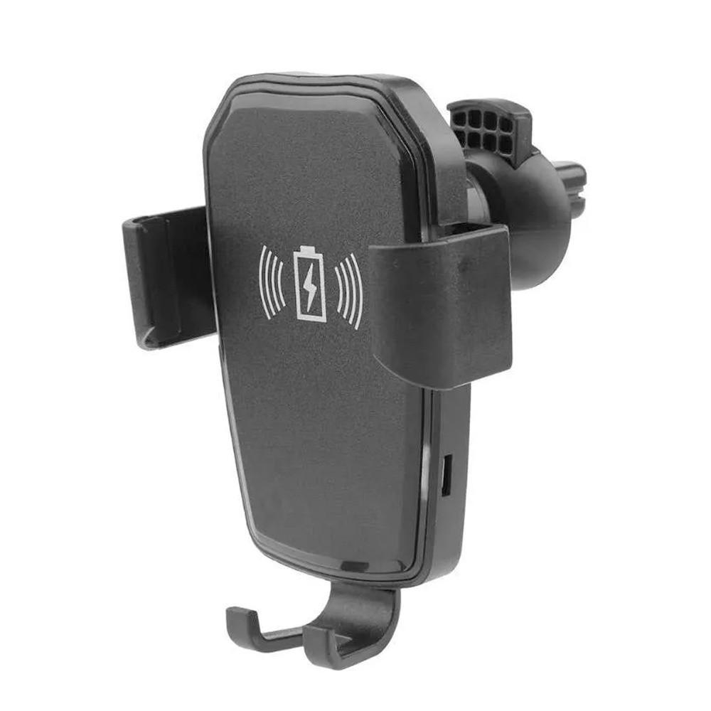 Carregador Turbo Veicular Wireless Indução Sem Fio Android IOS  - Mundo Thata
