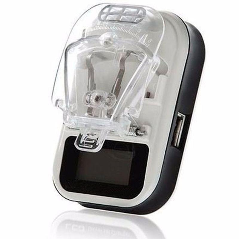 Carregador Universal de Bateria Celular Câmera   - Thata Esportes