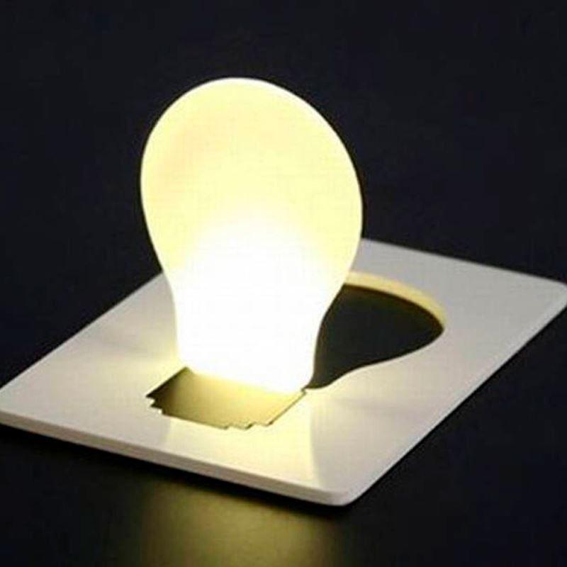Cartão Lâmpada LED Tamanho Cartão de Crédito  - Mundo Thata